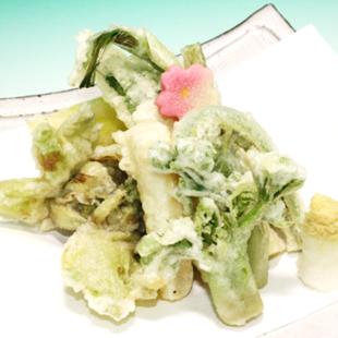 旬の食材特集その1/山菜天ぷら