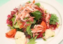 桜海老と海草のサラダ